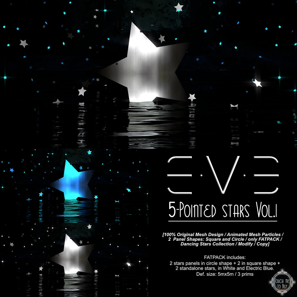 E.V.E 5-Pointed Stars Vol.I - SecondLifeHub.com