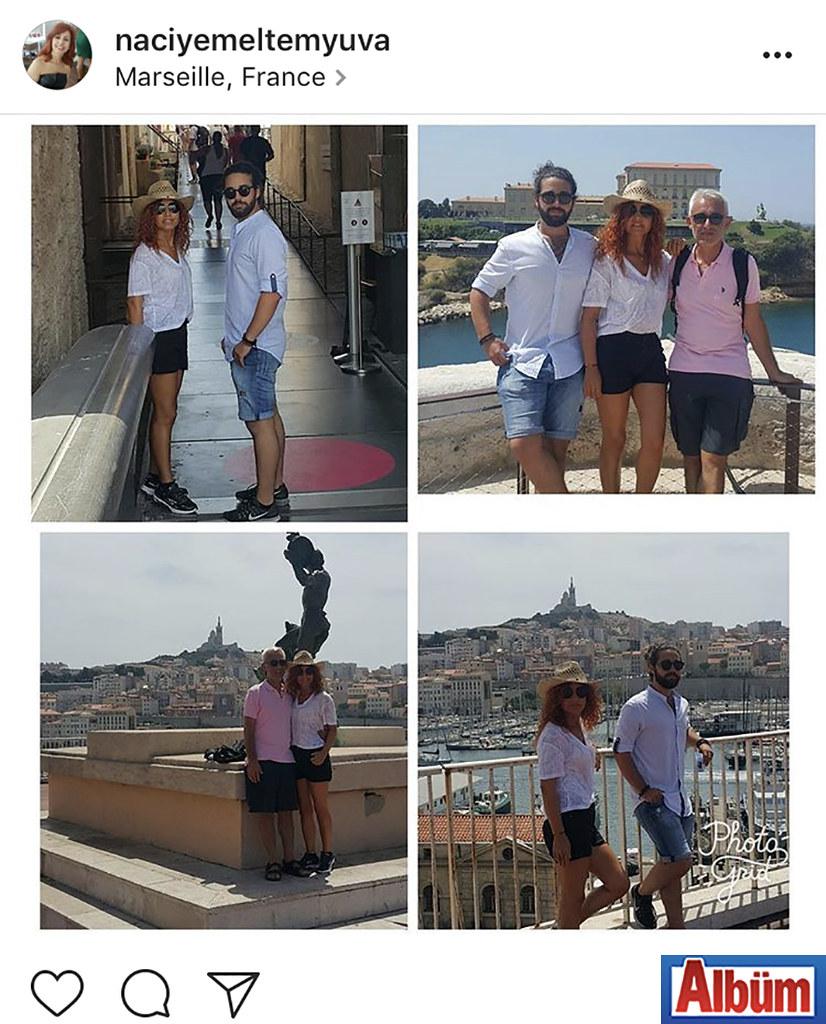 Meltem Çocuk Yuvası'nın kurucusu Naciye Alagöz, ailesi ile birlikte çıktığı Marsilya-Fransa tatilinden bu güzel fotoğrafı paylaştı.