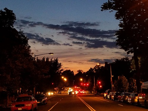 Sunset in Dupont