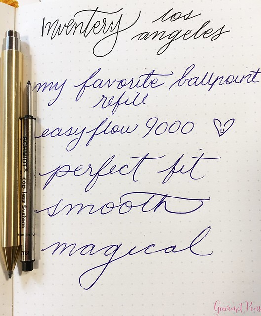 Review @InventeryCo Mechanical Pens - Brass, Chrome, Onyx 19