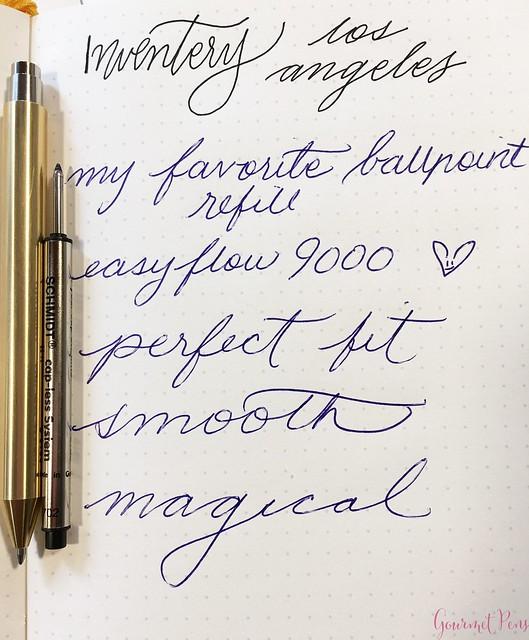 Review @InventeryCo Mechanical Pens - Brass, Chrome, Onyx 19
