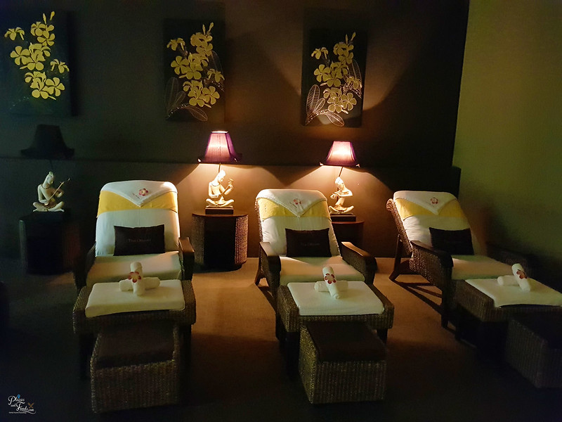 thai odyssey klia 2 foot massage room