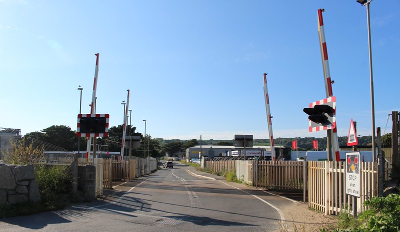 Level crossing near Penzance