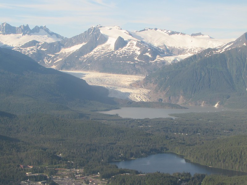 Taking off from Juneau - Mendenhall Glacier