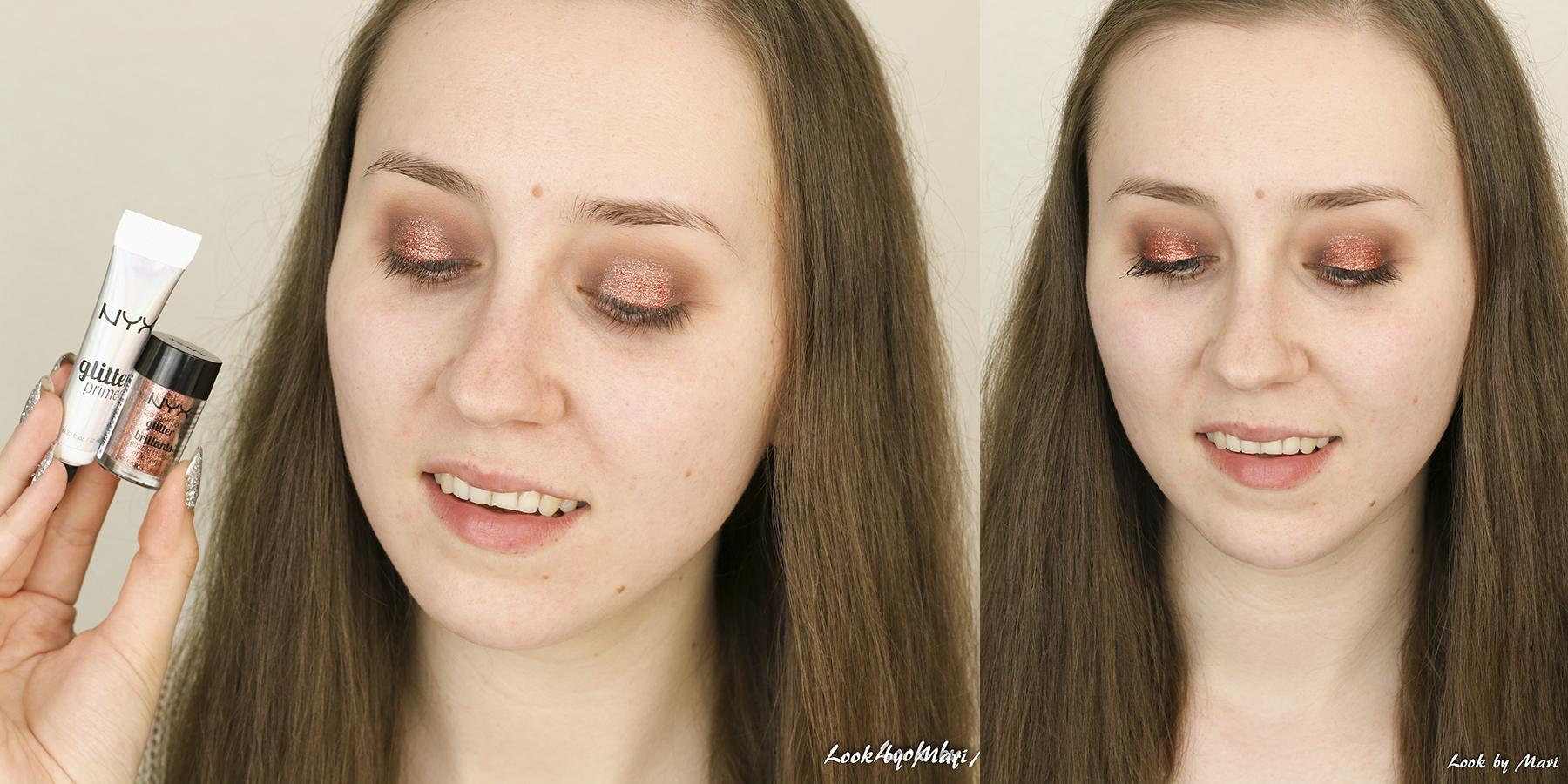 4 nyx glitter glue review kokemuksia nyx face & body glitter copper swatches