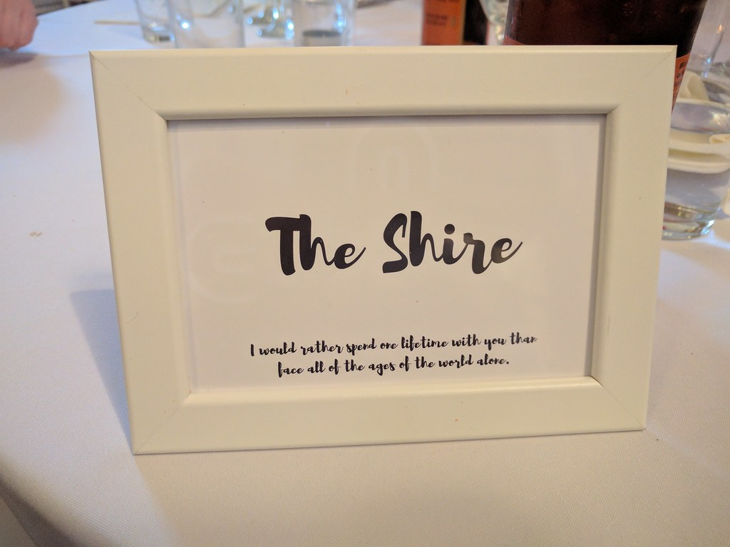 Wedding DIY's - table names