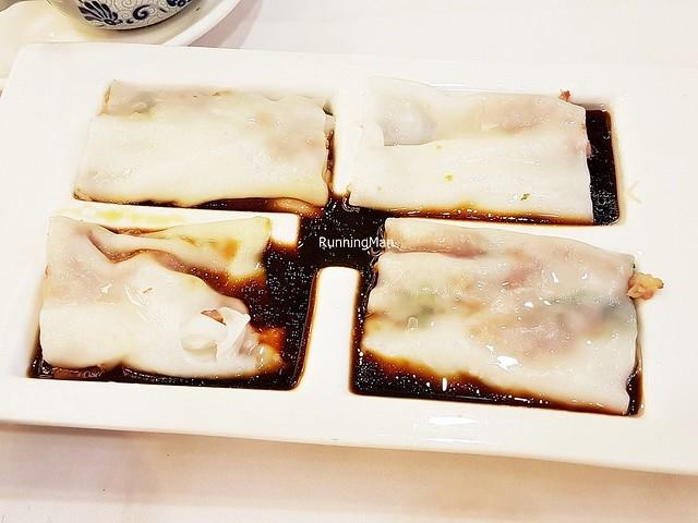 Rice Noodle Rolls Roast Pork Loin / Char Siew Chee Cheong Fun
