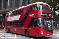 Wrightbus NRM NBFL - LTZ 1009 - LT9 - Archway 390 - Metroline - London 2017 - Steven Gray - IMG_1351