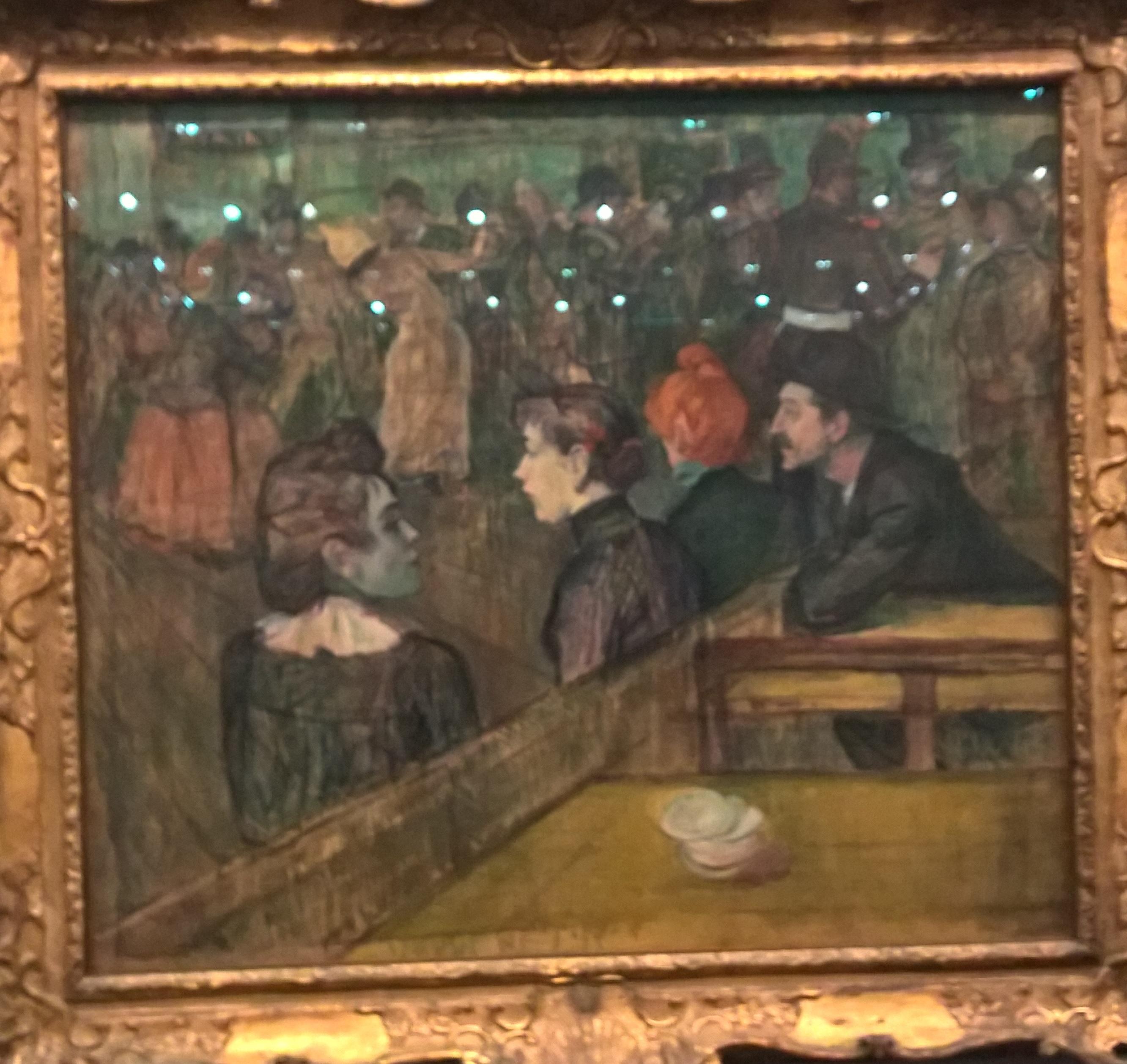 1889 _ Moulin de la Galette _ Óleo sobre tela