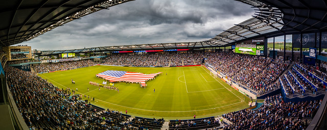 Sporting KC Military Appreciation, Canon EOS 70D, Tamron AF 17-50mm f/2.8 Di-II LD Aspherical