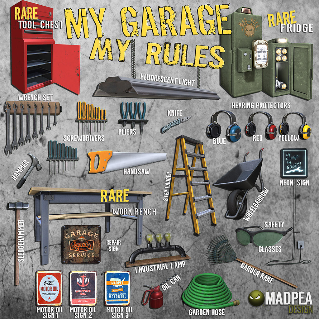 My Garage My Rules @ Man Cave - SecondLifeHub.com