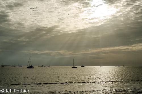 beach island nikon d7000 florida gulfofmexico keywest sunset water ocean boat rays