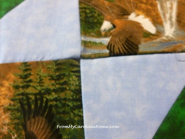 QOV Eagle Squares at From My Carolina Home