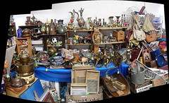 antiques panorama : Autostitch