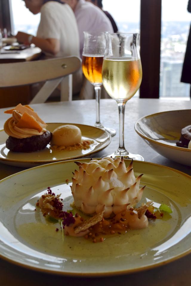 Dessert Wine Pairings at Duck & Waffle | www.rachelphipps.com @rachelphipps