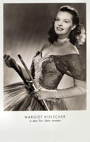 Margot Hielscher in Salto Mortale (1953)