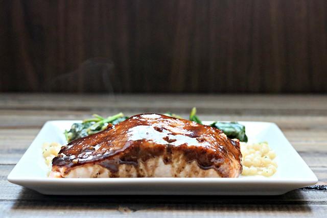 Balsamic Honey Dijon Salmon