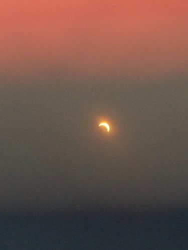 Eclipse Just After Maximum Coverage