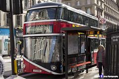 Wrightbus NRM NBFL - LTZ 1060 - LT60 - General - Liverpool Street 11 - Go Ahead London - London 2017 - Steven Gray - IMG_6323