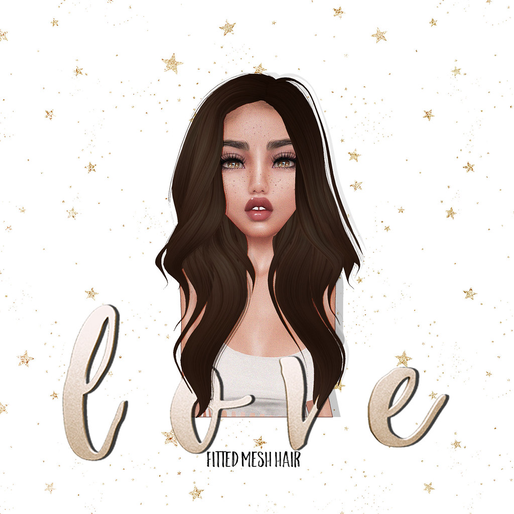 Love [Sleepy Eyes] Fitted Mesh Hair @ TLC - SecondLifeHub.com