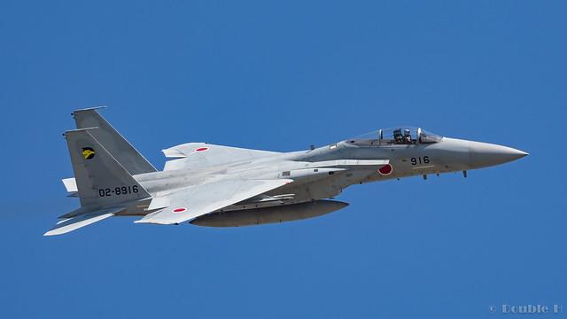 Komatsu AB Airshow Rehearsal 2017.9.14 (48) 306SQ F-15J #916