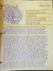 Central Ohio Cycling News   April 1965