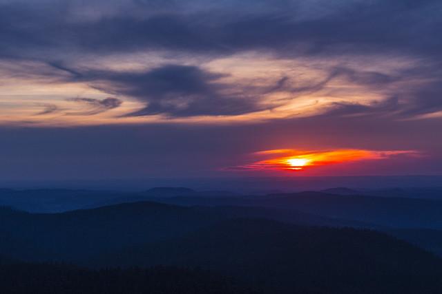 Coucher de soleil sur, Canon EOS 70D, Canon EF-S 60mm f/2.8 Macro USM
