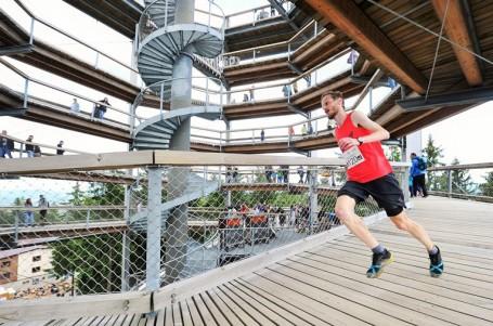 Lipenský půlmaraton se stává kulisou Modrého kódu