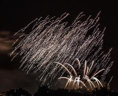 Edinburgh festival fireworks finale