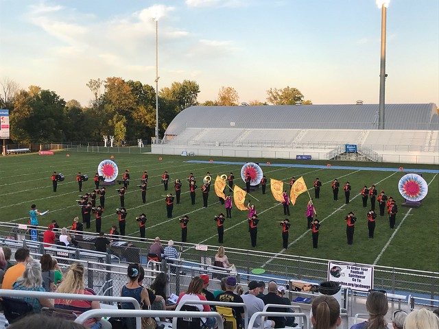 Grove City High School Marching Band Invitational Competition