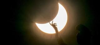 Este lunes a las 13:20:11, eclipse solar en la CDMX