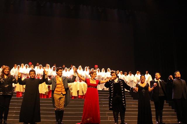"""USMP y Romanza presentaron la función de inauguración de la Temporada de Ópera y Zarzuela Internacional de Lima 2017 """"Libertad, Amor y Música"""""""