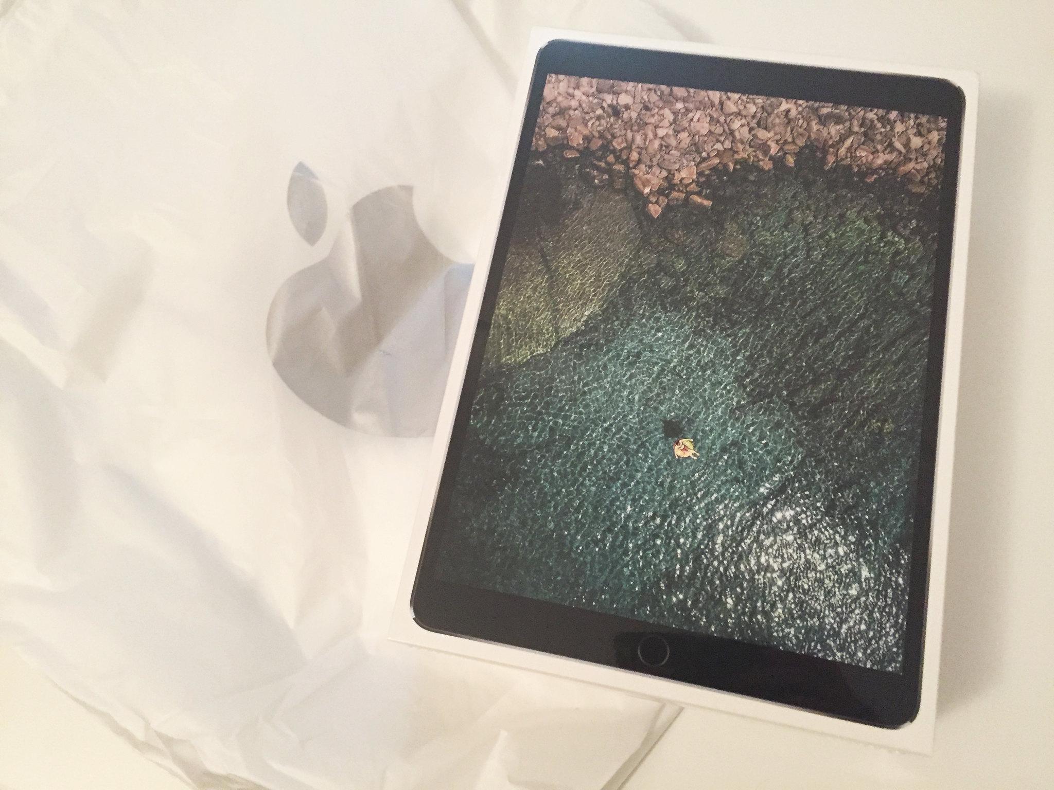 20170820 Première prise en main de l'iPad Pro 10,5'' 1