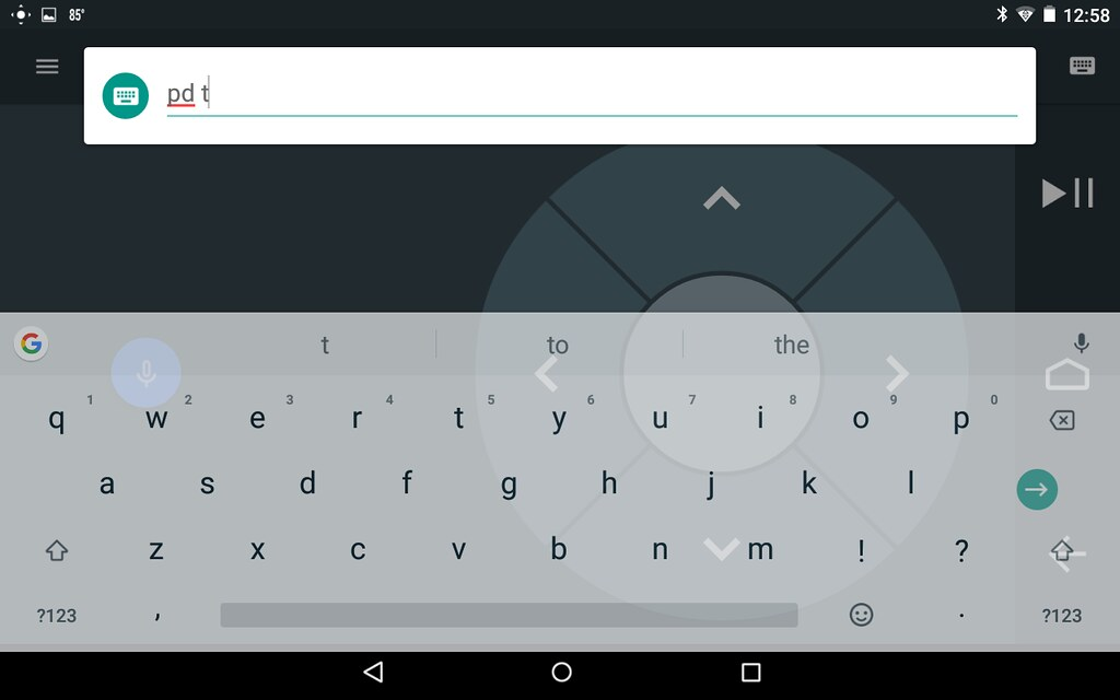 Android Tv App Keyboard Not Working