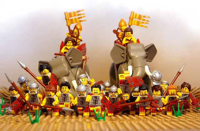 Battle of the Trebia - 218 B.C.