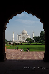 Taj Mahal, One Last view  (view full size)