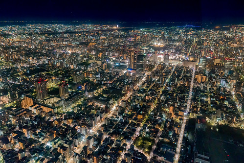 Night view from TOKYO SKYTREE
