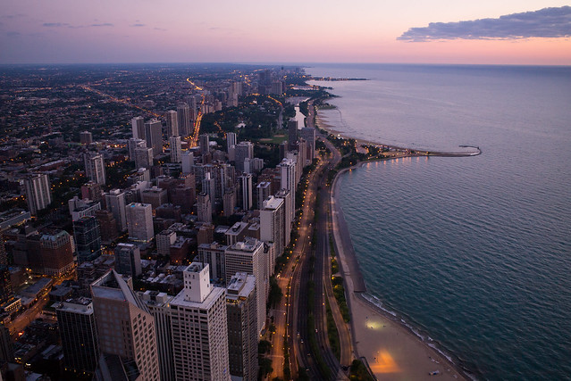 Early Morning in Chicago