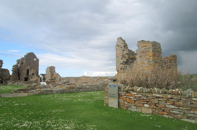 Earl's Palace, Birsay, Orkney, Interior 2