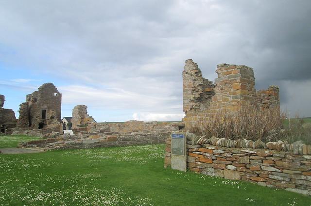 Earl's Palace, Birsay, Orkney, Interior 2
