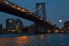 Williamsburg Bridge Moonsrise