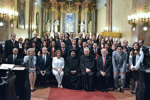 Egyiptomi kopt keresztény kórus magyar templomokban lépett fel