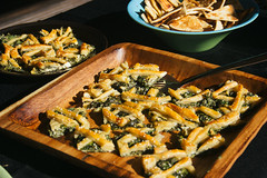 Spinach Pie - Phinom Cuisine Los angeles Catering, Long Beach Catering