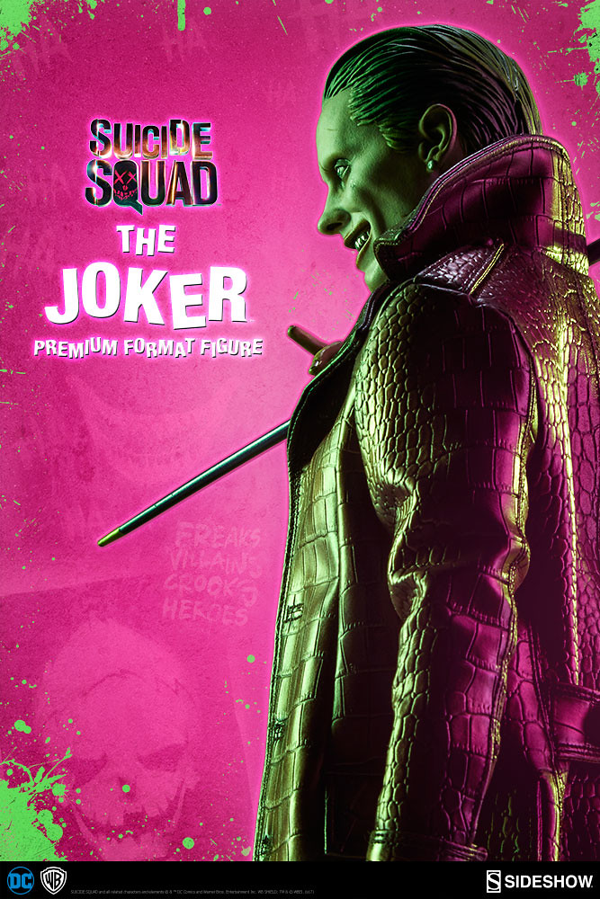 Hahahaha!!!Sideshow Collectibles 自殺突擊隊【小丑】Suicide Squad The Joker 1/4 比例全身雕像作品