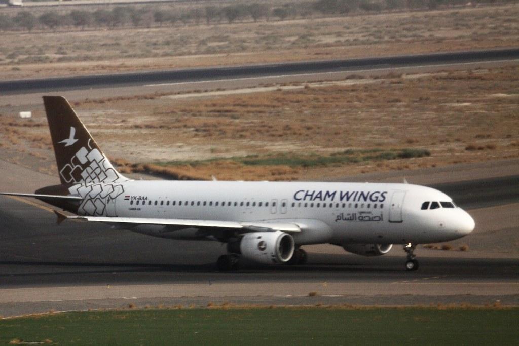 Cham Wings A320 YK-BAA Kuwait
