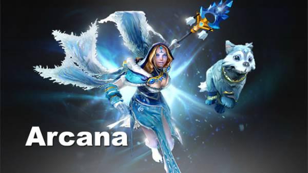 Dota Crystal Arcana Mirana Templar | Rini & Mizao