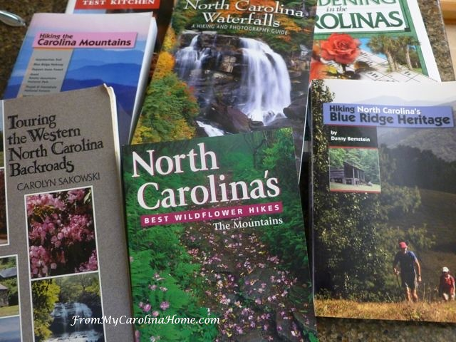 Hiking Books and Gardening Books