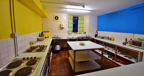 Greenhead Hostel kitchen