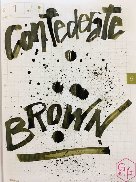 Ink Shot Review Scriptus 2017 x KWZI 150 Confederate Brown 17