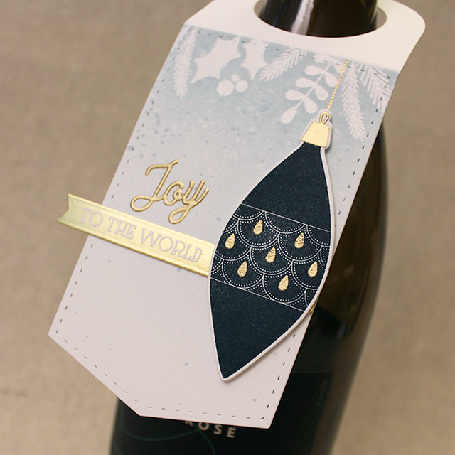 Joy To The World Wine Tag 2